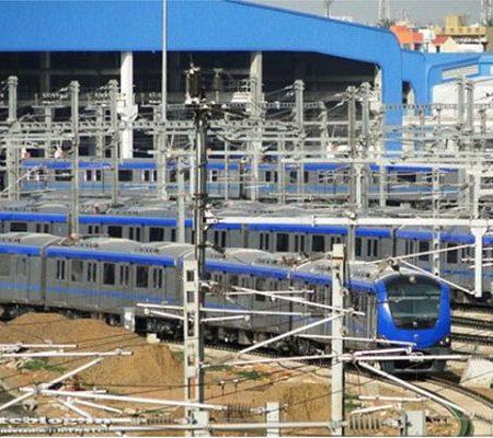Chennai Metro Rail Depot @ Koyambedu