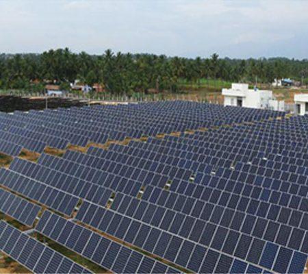 Swelect Solar Power Plant @ Aravakurichi, Karuru, Tamil Nadu